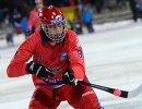 Игрок сборной России по хоккею с мячом Максим Ишкельдин