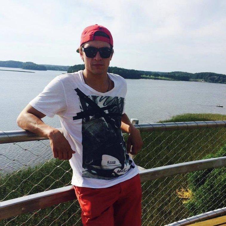 Чемпион Латвии по триатлону Дмитрий Калинин