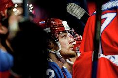Нападающий сборной России Валерий Ничушкин