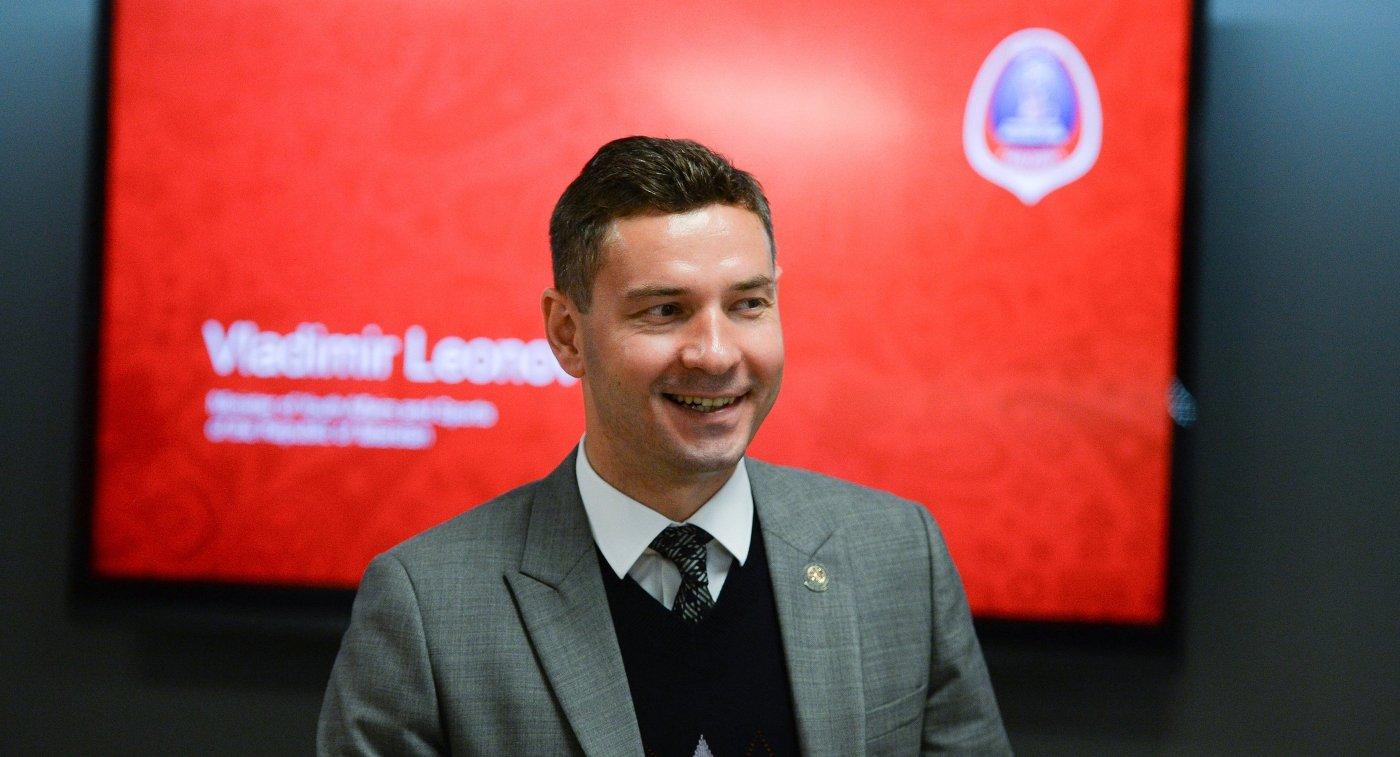 Министр спорта Татарстана Владимир Леонов