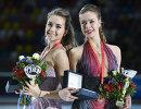 Елена Радионова (Россия) и Анна Погорилая (Россия) (слева направо)
