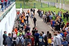 Прием нормативов ГТО у костромских старшеклассников