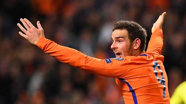 Нападающий сборной Нидерландов Венсан Янссен