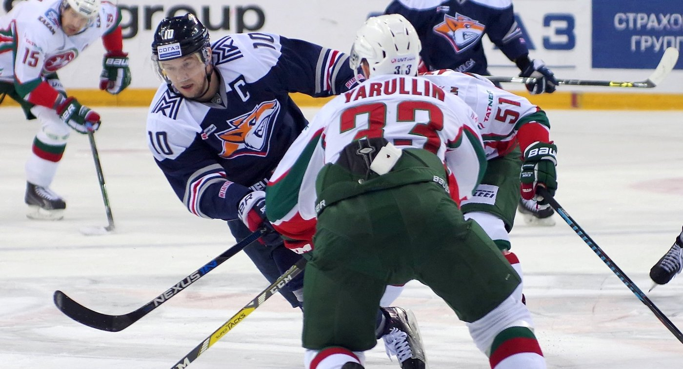 Металлург победил по буллитам Салават Юлаев