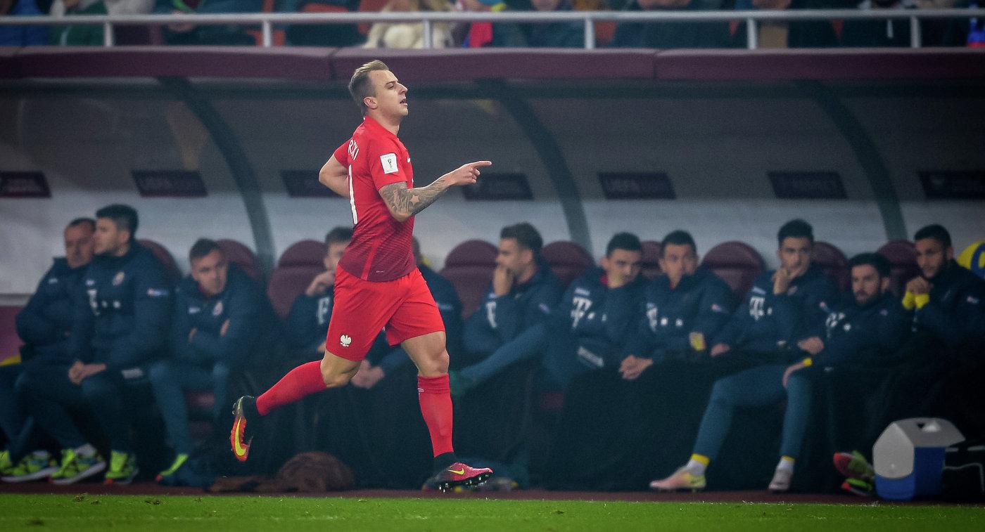 Полузащитник сборной Польши по футболу и французского Ренна Камил Гросицкий