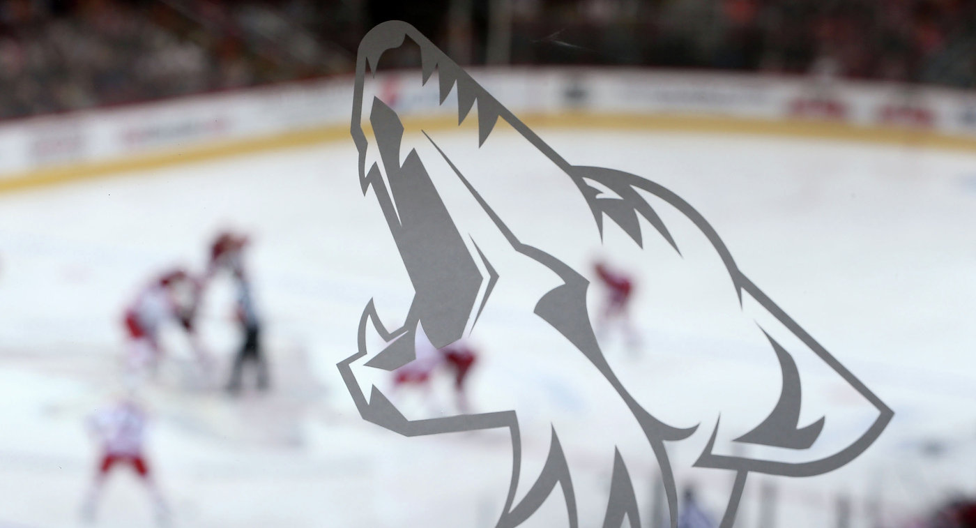 Логотип клуба НХЛ Аризона Койотис
