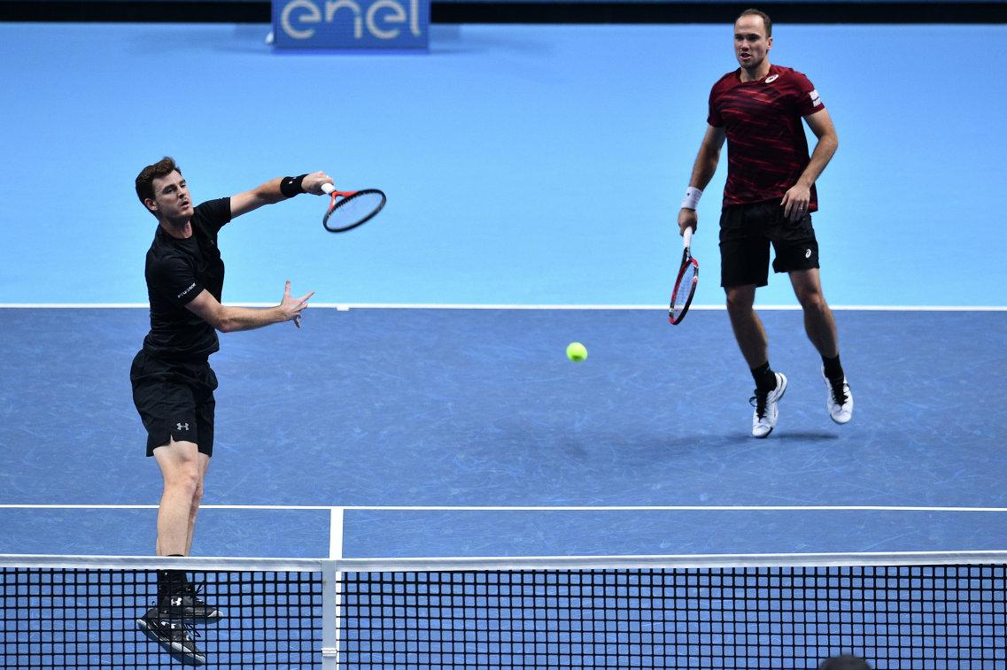 Маррей и Соарес победили Кабаль и Фару на итоговом турнире ATP в парном разряде