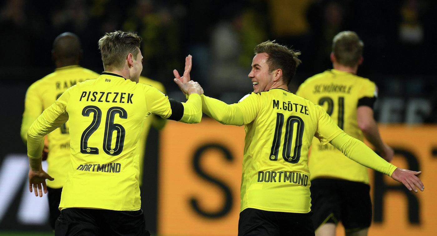 Футболисты «Боруссии» (Дортмунд) разгромили «Вольфсбург» впервом туре бундеслиги