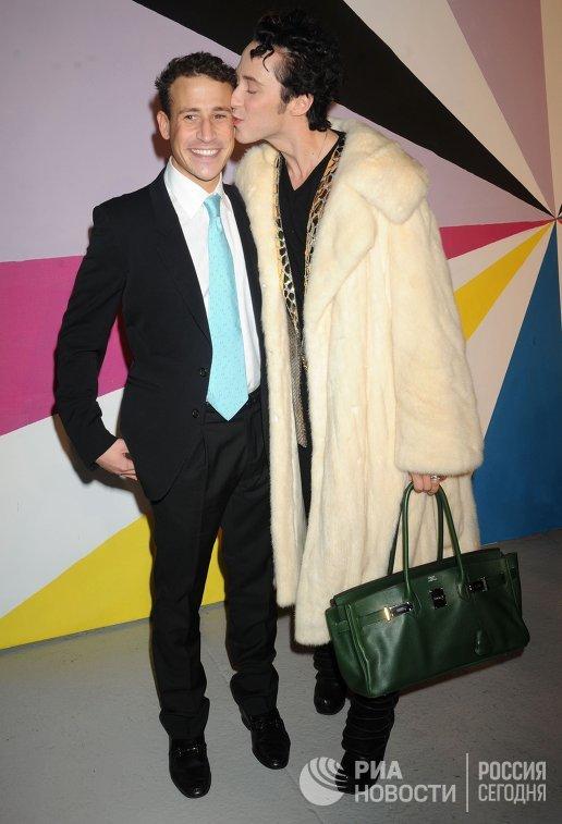 2012 год. Виктор Воронов и Джонни Вейр (слева направо)