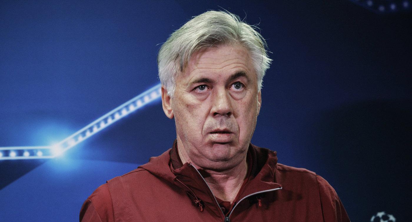 Анчелотти может быть отправлен вотставку споста основного тренера «Баварии»