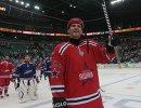 Хоккей. Прощальный матч М. Сушинского и А. Яшина