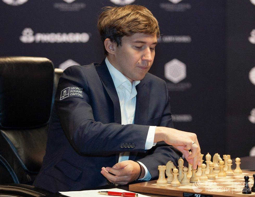 Карякин идет девятым после первого дня турнира по блицу в Индии