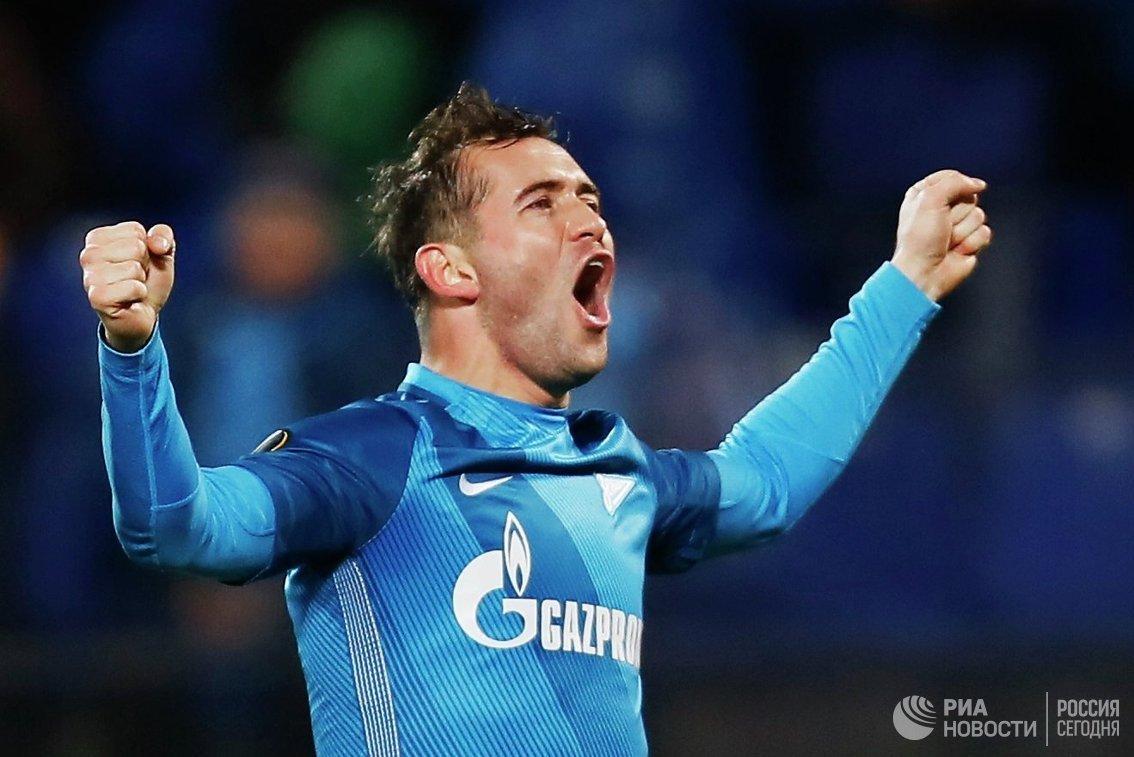 Форвард ФК Зенит Александр Кержаков