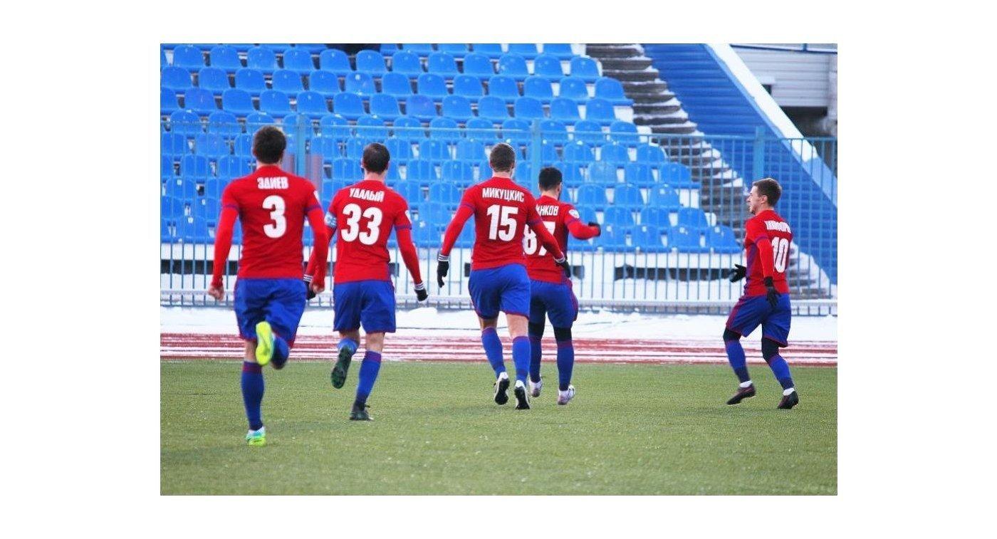 Футболисты СКА-Хабаровска