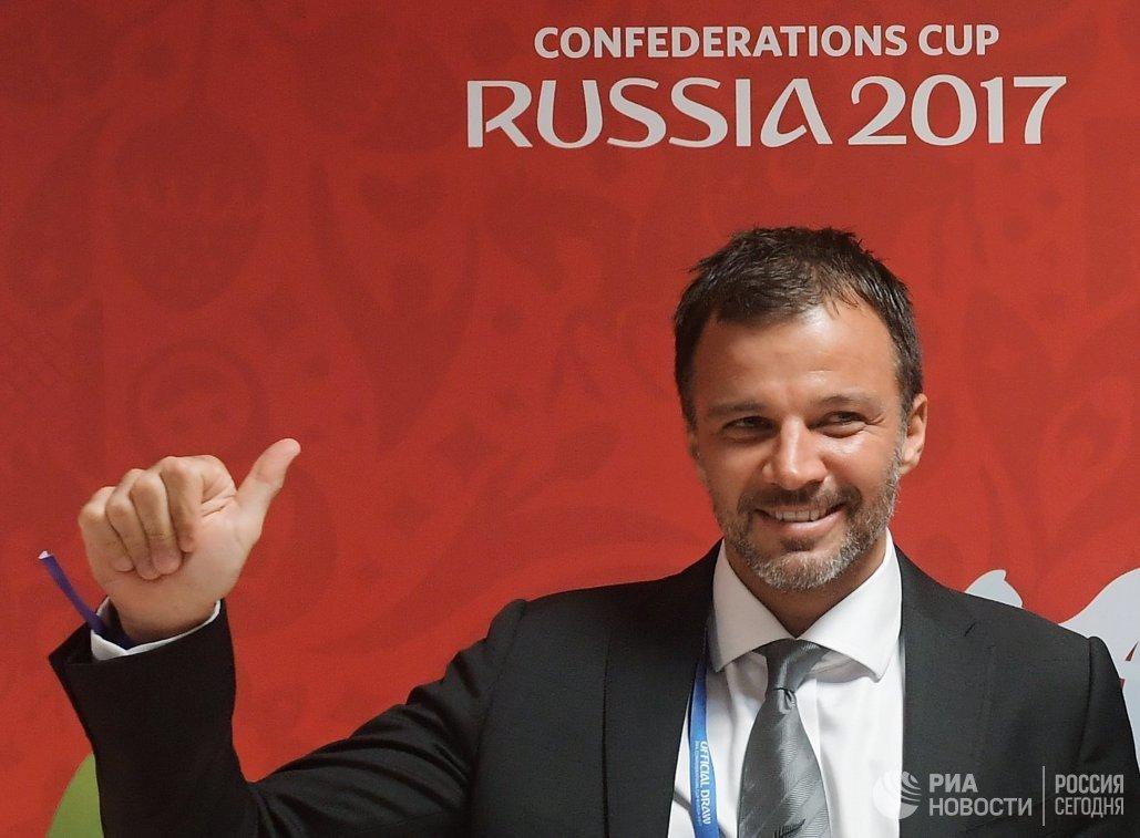 Главный тренер сборной Новой Зеландии по футболу Энтони Хадсон
