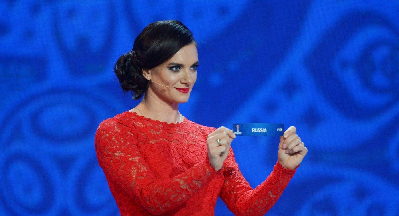 Двукратная олимпийская чемпионка в прыжках с шестом, член комиссии атлетов МОК Елена Исинбаева