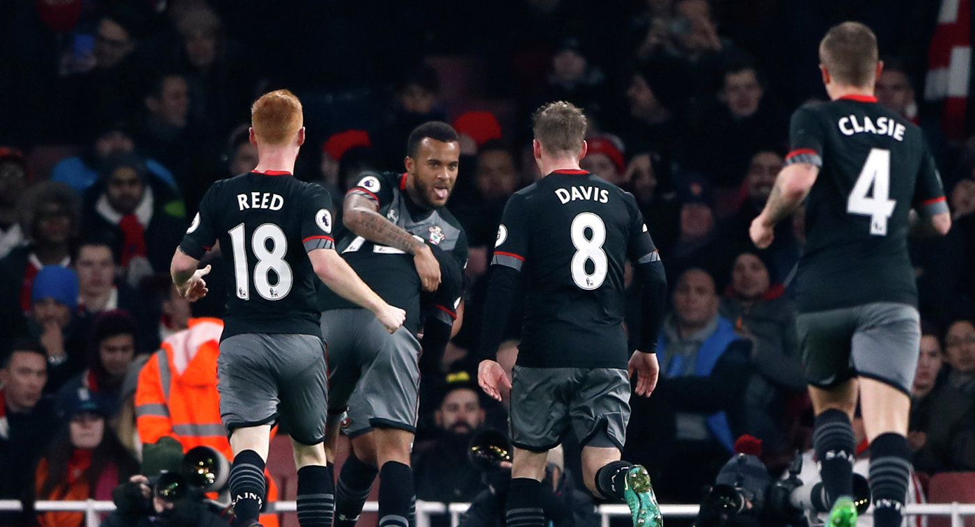 Саутгемптон— Эвертон 4:1 Видео голов иобзор матча
