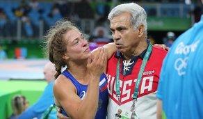 Валерия Коблова с тренером