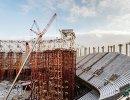 Строительство арены Стадион Нижний Новгород, которая примет матчи чемпионата мира-2018 по футболу