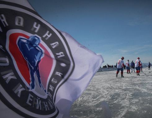 Ночная хоккейная лига презентовала логотип восьмого сезона