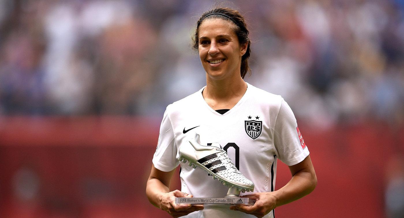 Капитан женской сборной США по футболу Карли Ллойд