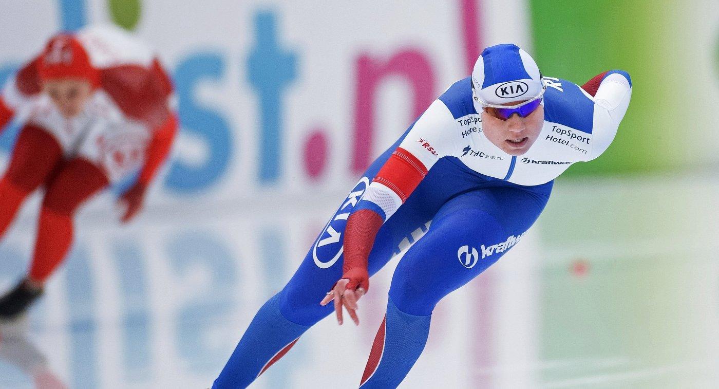 Конькобежка Фаткулина стала чемпионкой РФ надистанции тысяча м