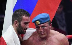 Денис Лебедев и Мурат Гассиев (справа налево)