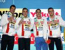 Никита Лобинцев, Михаил Вековищев, Владимир Морозов и Александр Попков (слева направо)