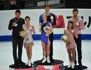 Чжан Хао, Юй Сяоюй, Евгения Тарасова, Владимир Морозов, Меган Дюамель и Эрик Рэдфорд (слева направо)