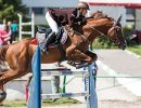 Соревнования по конному спорту в рамках Спартакиады учащихся России