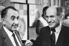 Советские чемпионы мира Тигран Петросян (слева) и Михаил Таль