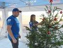 Подготовка команды КАМАЗ-мастер к празднованию Нового года