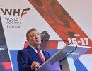 Председатель правления Федерации хоккея России Аркадий Ротенберг