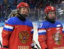 Слева направо: Ангелина Гончаренко и Анна Шохина