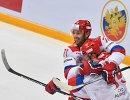 Хоккеисты сборной России Илья Ковальчук (слева) и Егор Яковлев
