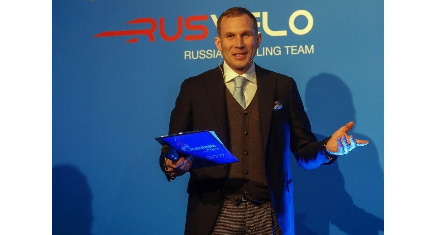 Генеральный менеджер проконтинентальной команды Газпром-Русвело Ренат Хамидулин