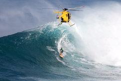 Профессиональные соревнования по серфингу, Гавайи, США