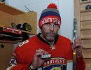 Форвард Флориды Яромир Ягр, набравший 1888-е очко в регулярных чемпионатах НХЛ