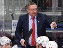 Главный тренер ХК Витязь Валерий Белов