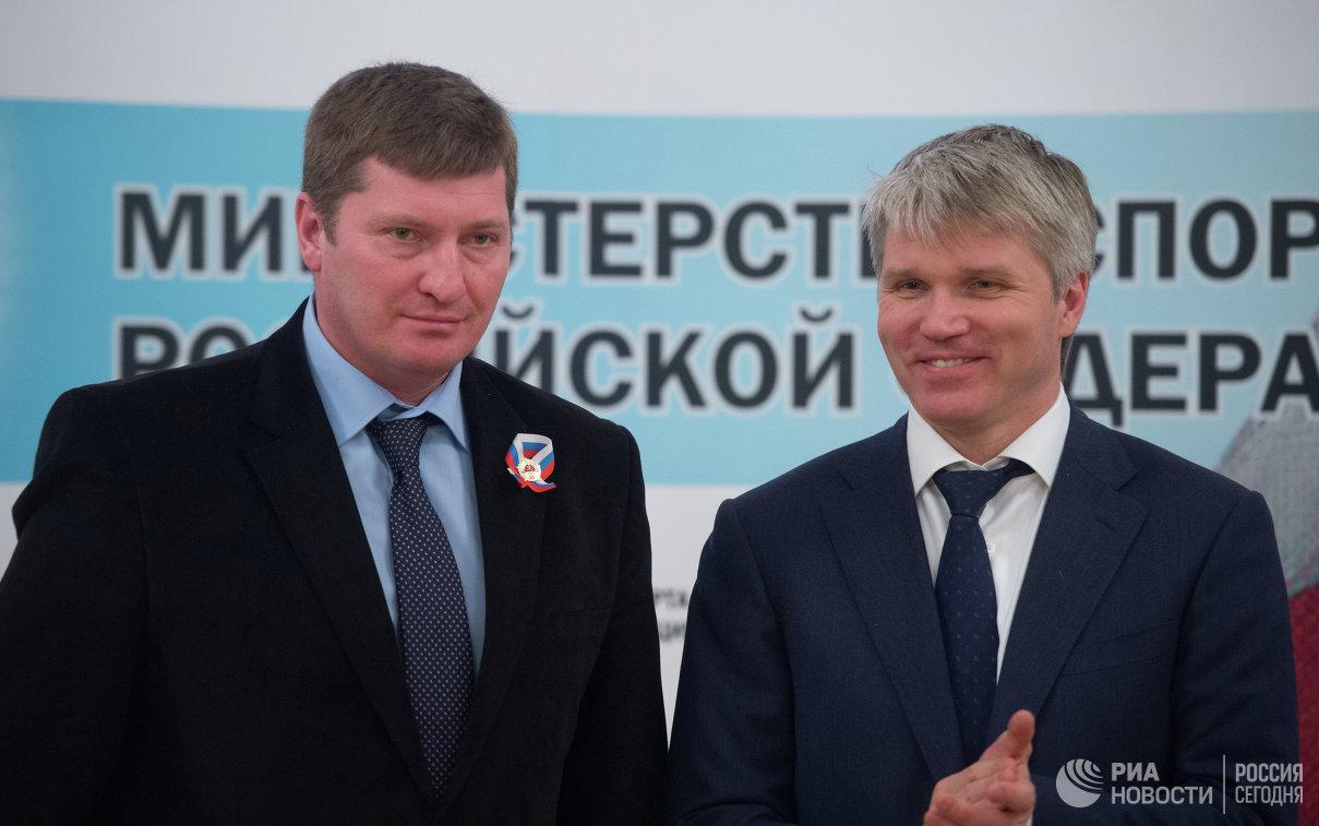 Награждается министр молодежной политики и спорта республики Башкортостан Андрей Иванюта