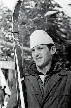 Шестикратный чемпион мира по биатлону в индивидуальной гонке и эстафете Александр Тихонов, 1973 год