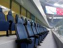 Кресла вип-ложи на стадионе Зенит-Арена в Санкт-Петербурге