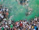 Болельщики Торпедо в матче 30-го тура чемпионата России по футболу