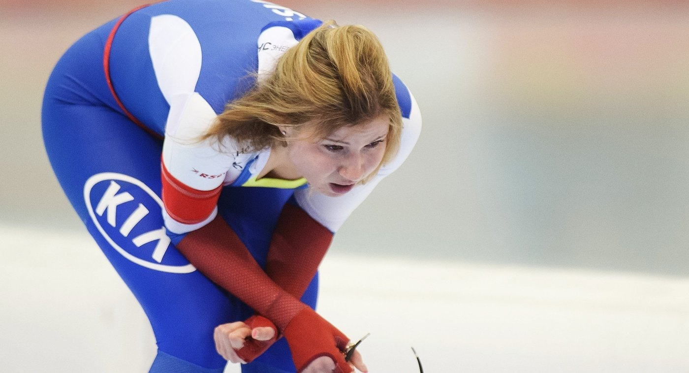 Конькобежец Павел Кулижников установил рекорд