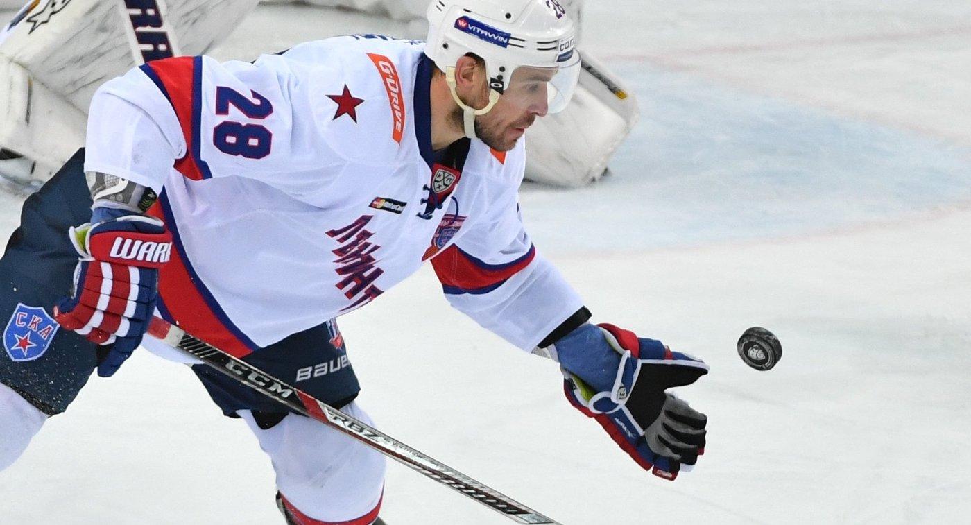 Защитник СКА Андрей Зубарев