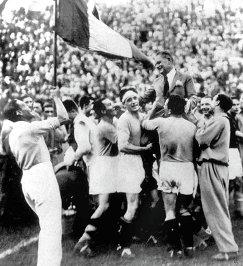 Футболисты сборной Италии. 1934 год