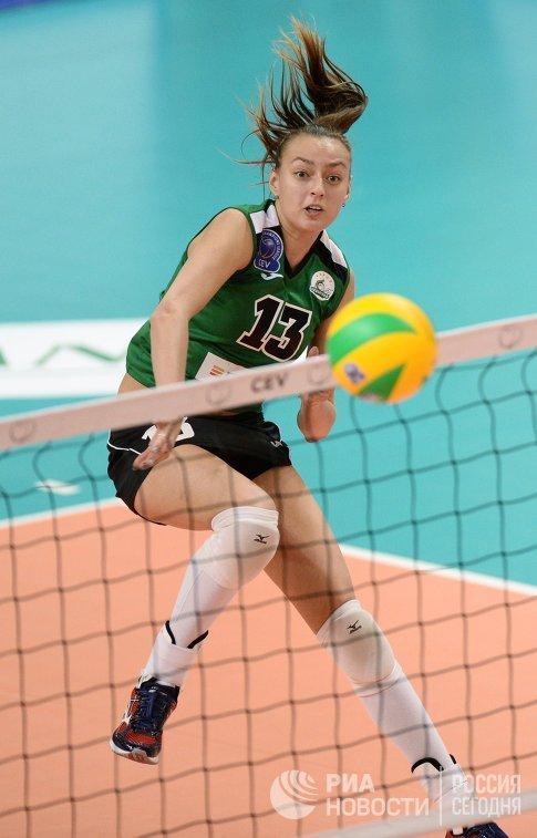 Волейболистка Уралочки-НТМК Ксения Парубец