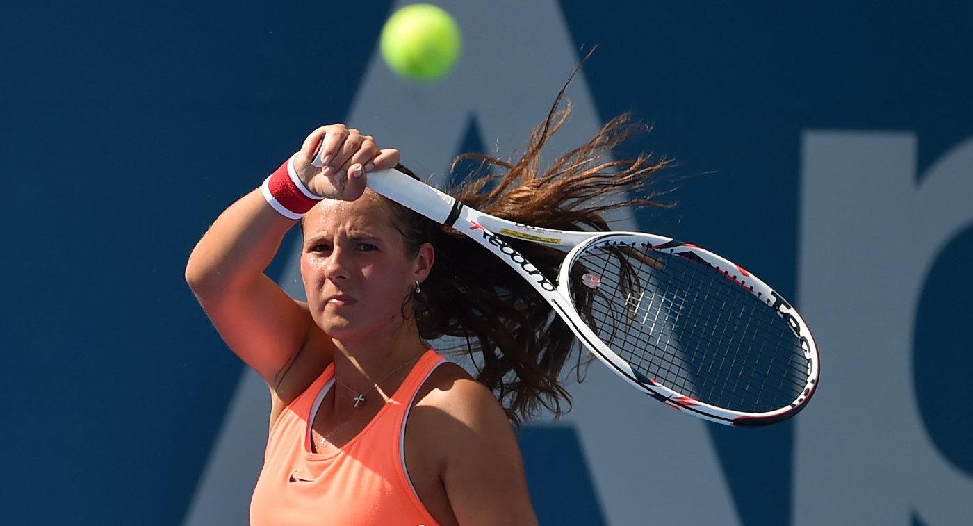 Дарья Касаткина вышла во 2-ой круг турнира вТокио