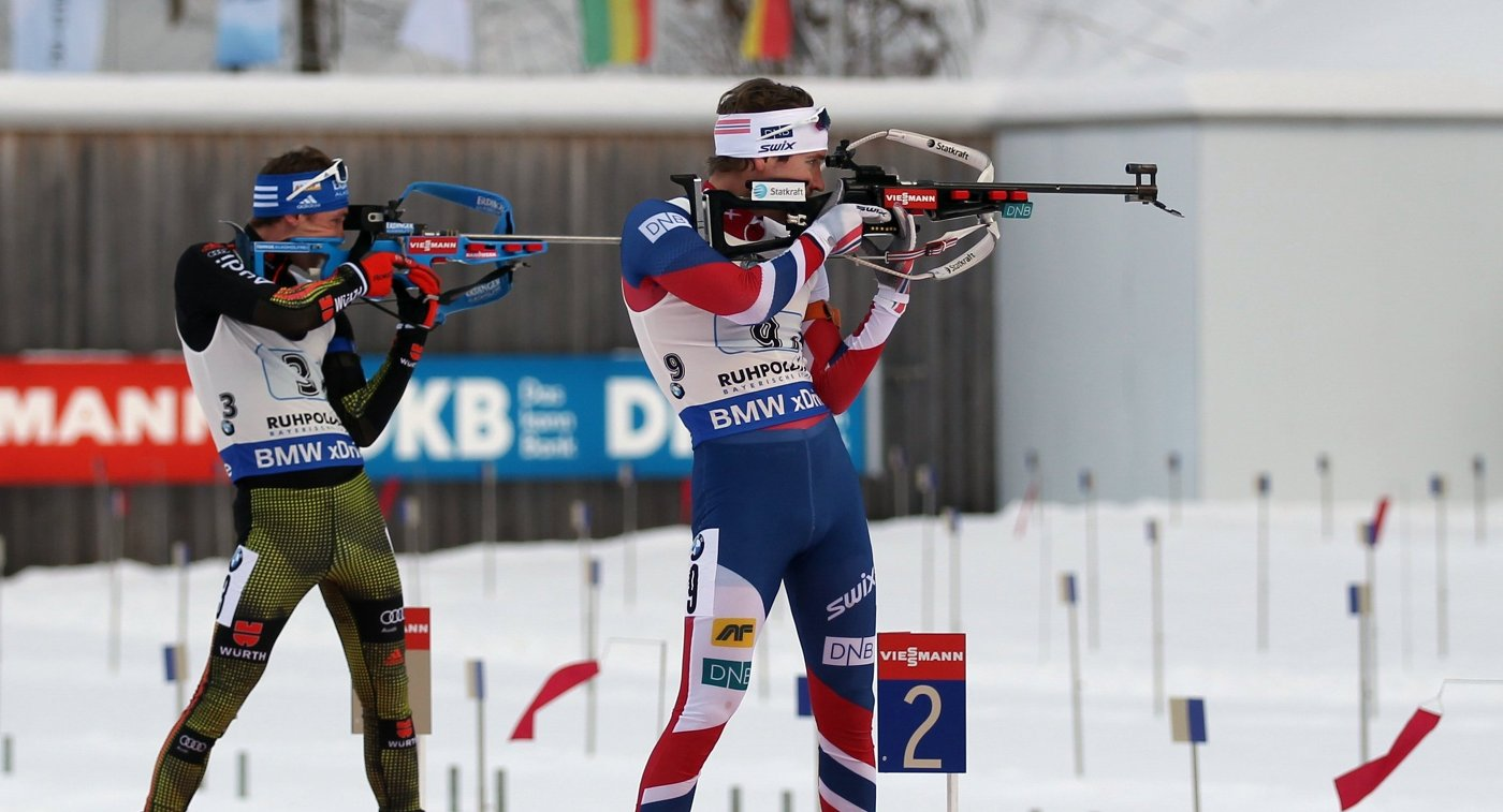 Симон Шемпп  и Эмиль Хегле Свендсен (слева направо)