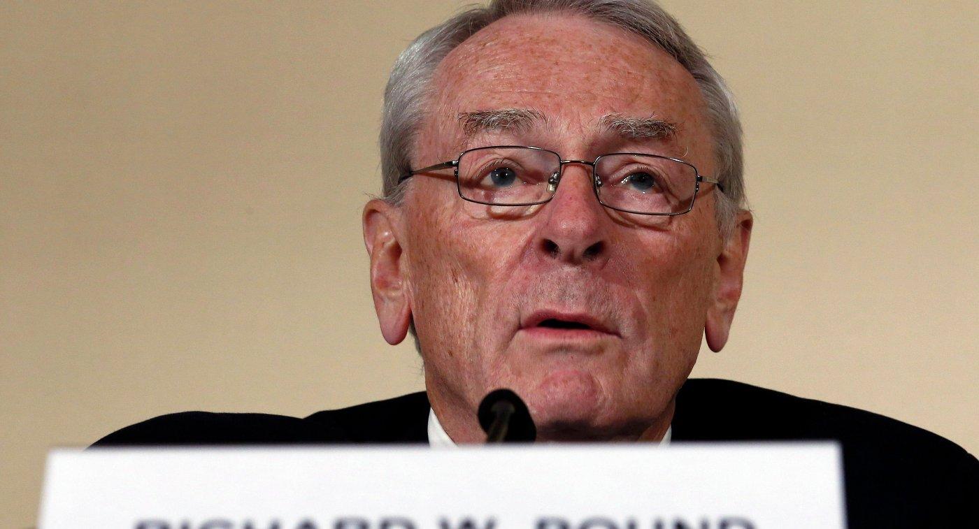 Бывший президент Всемирного антидопингового агентства (WADA) Ричард Паунд